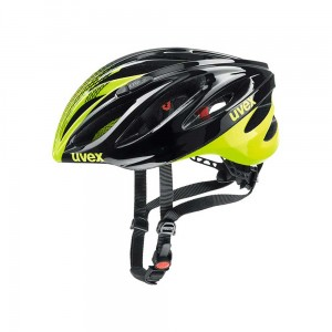 Kask rowerowy Uvex Boss Race black-neon yellow (15)