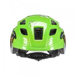Kask rowerowy Uvex Finale junior green pirate (13)
