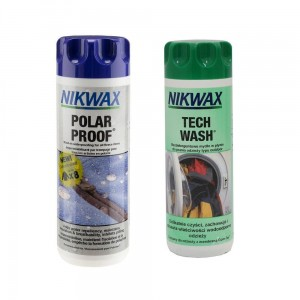 Zestaw Nikwax Twin Pack: Tech Wash + Polar Proof V13.1 (2 x 300 ml)