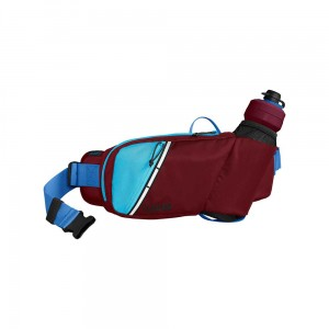 Pas CamelBak Podium Flow Belt Burgundy/Lake Blue