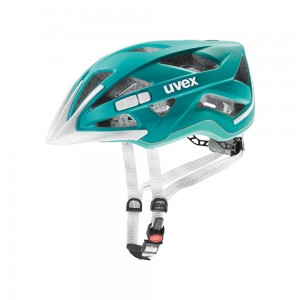 Kask rowerowy Uvex City Active teal mat (15)