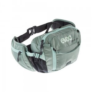 Nerka Evoc Hip Pack Race 3 L + 1,5 L Bladder Olive/Light Petrol
