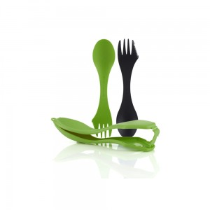 Niezbędnik Light My Fire Sporks 'n Case Green/Black