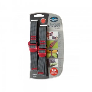 Troki Sea To Summit Accessory Strap with Hook Red 20 mm