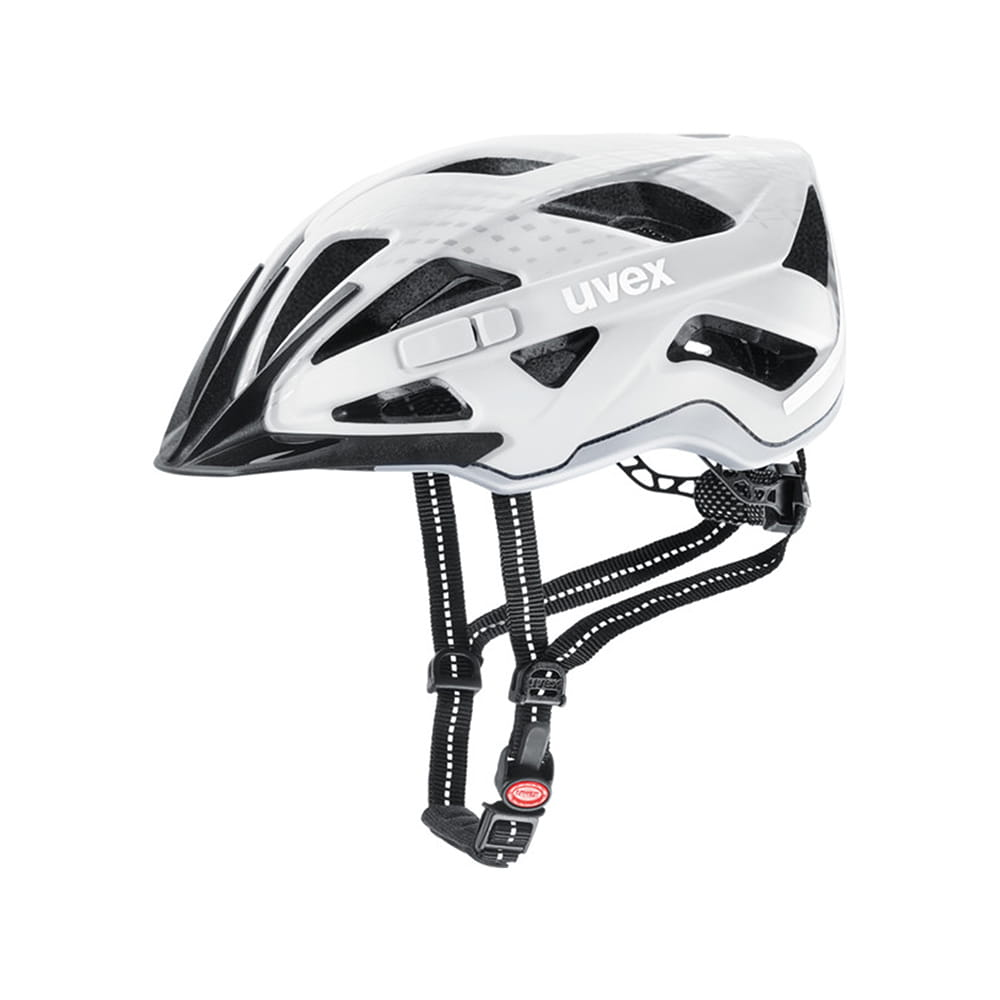 Kask rowerowy Uvex City Active white mat (15)