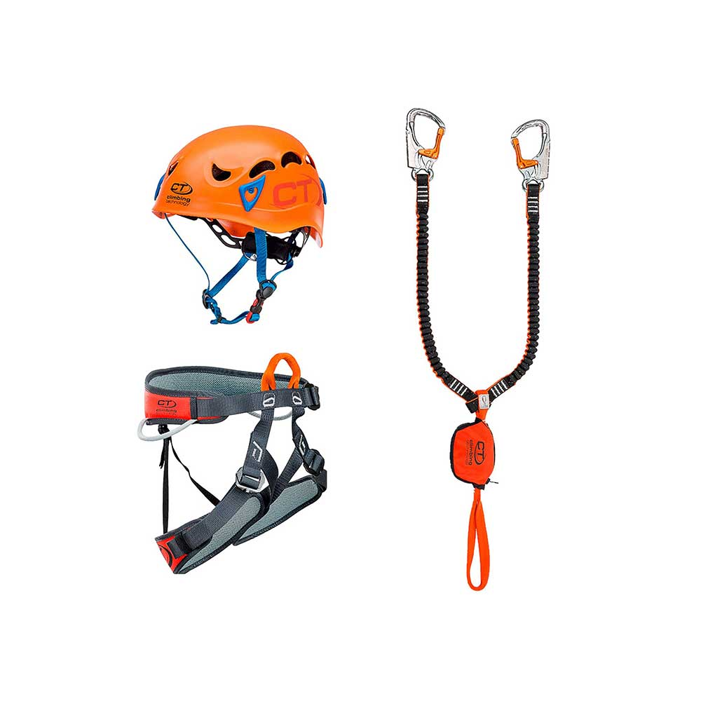 Zestaw Climbing Technology Kit Ferrata Plus Galaxy