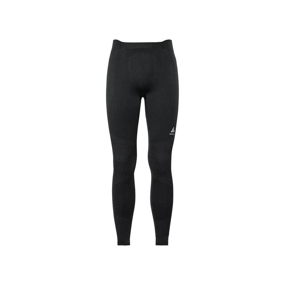 Spodnie męskie Odlo Performance Warm Baselayer Pants black-odlo concrete grey M